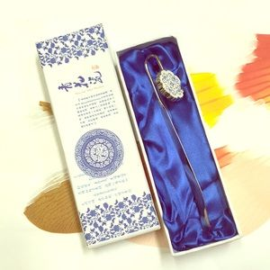 MOVING SALE Chinese Porcelain Bookmark